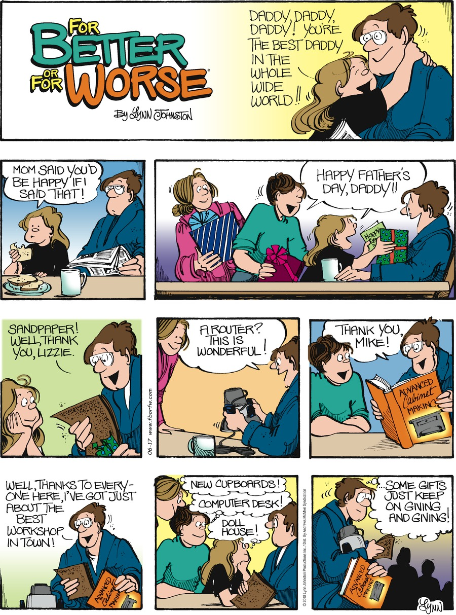 For Better or For Worse Comic Strip for June 17, 2018
