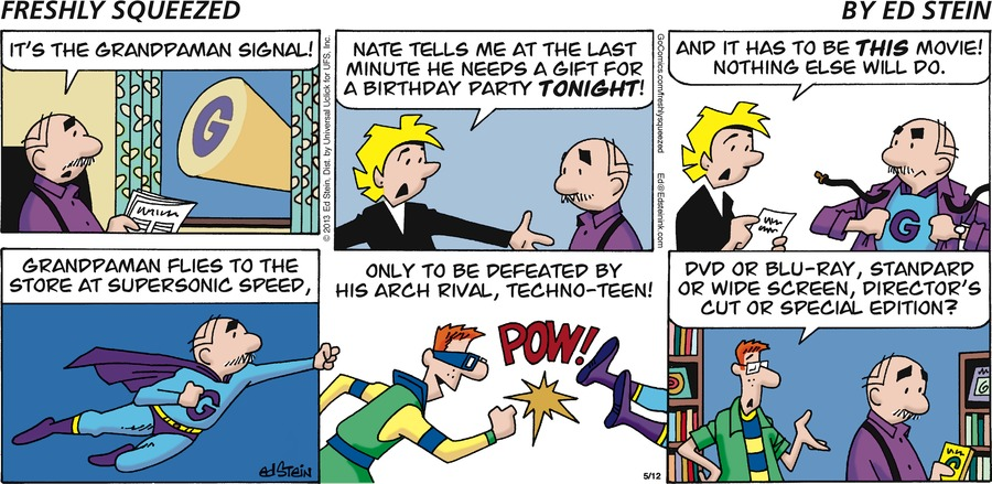 Freshly Squeezed Comic Strip for May 24, 2020