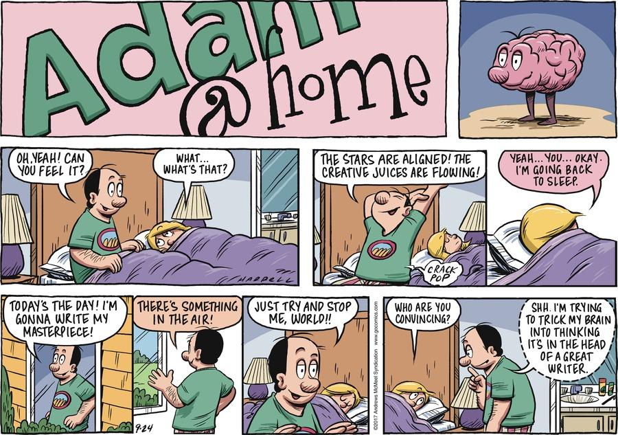 Adam@Home for Sep 24, 2017 Comic Strip