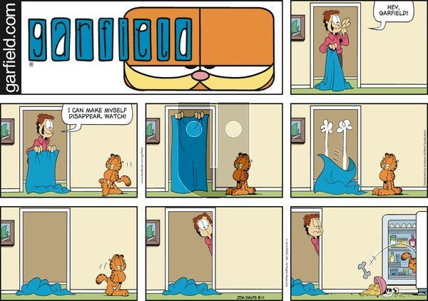 Garfield on Sunday August 11, 2019 Comic Strip