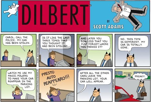 Dilbert - Sunday December 29, 2002 Comic Strip