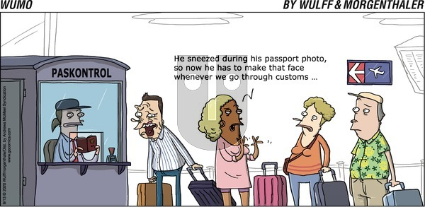 WuMo on Sunday September 13, 2020 Comic Strip