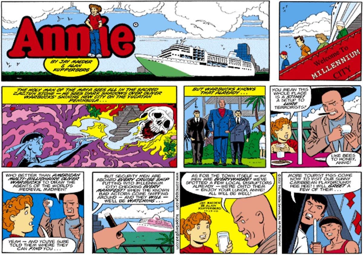 Annie Comic Strip for July 14, 2013