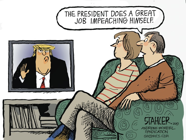 Jeff Stahler Comic Strip for October 13, 2019