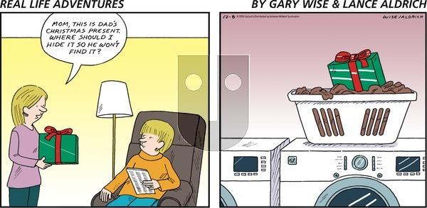 Real Life Adventures - Sunday December 8, 2019 Comic Strip