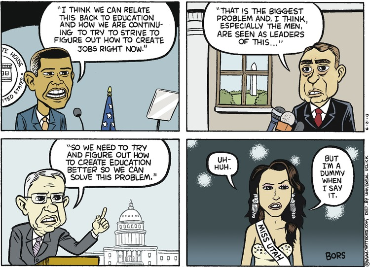 Matt Bors for Jun 23, 2013 Comic Strip