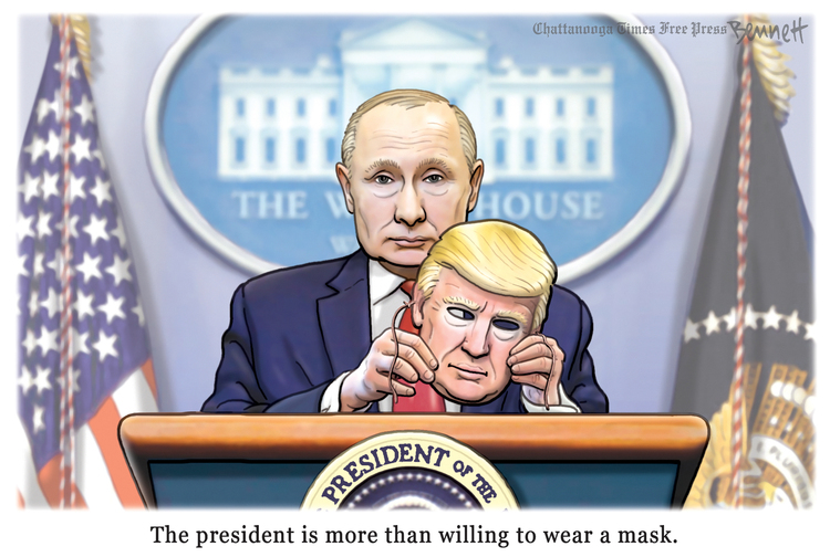 Clay Bennett by Clay Bennett on Sat, 23 May 2020