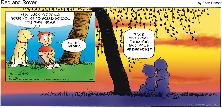 Red and Rover Comic Strip for September 01, 2019