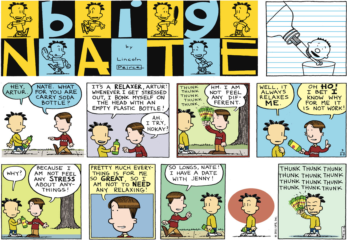 Big Nate Comic Strip for March 20, 2011