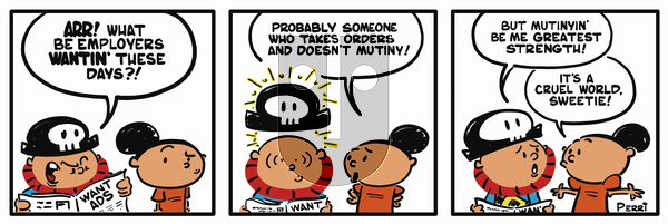Pirate Mike on Monday February 18, 2019 Comic Strip