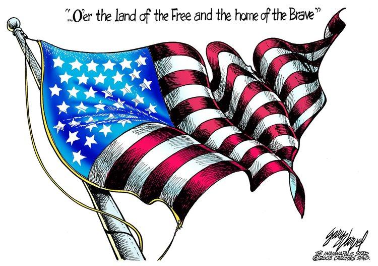 Gary Varvel for Jul 4, 2013 Comic Strip