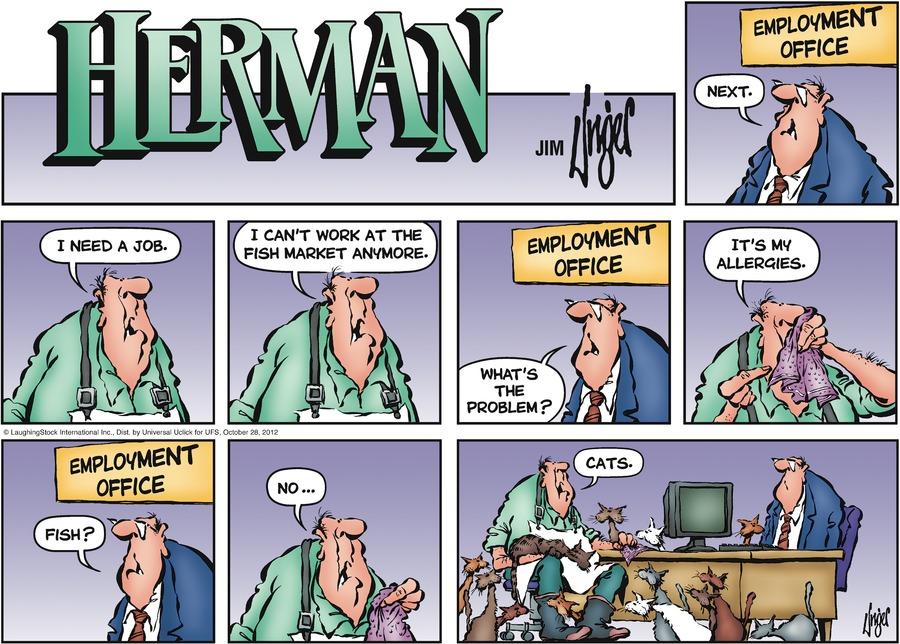 Herman for Oct 28, 2012 Comic Strip