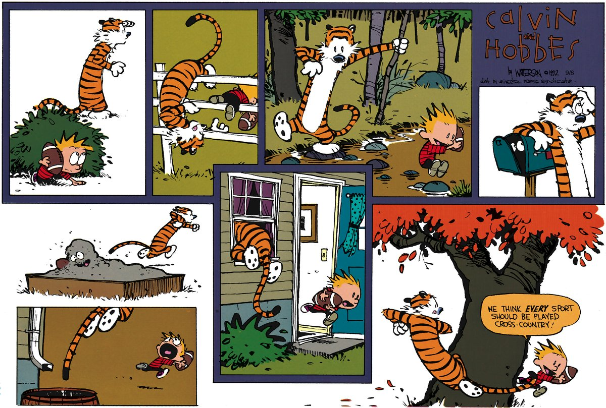 Calvin and Hobbes for Oct 28, 2012 Comic Strip