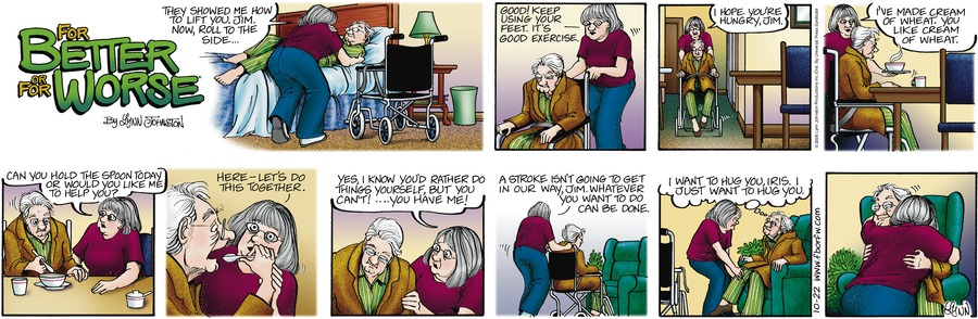 For Better or For Worse for Oct 22, 2006 Comic Strip
