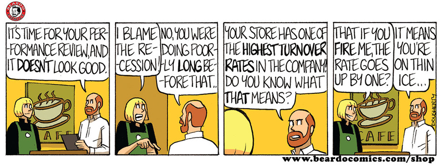 Beardo Comic Strip for December 04, 2018