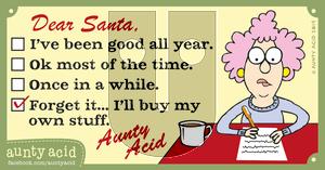 Aunty Acid on Sunday December 22, 2019 Comic Strip