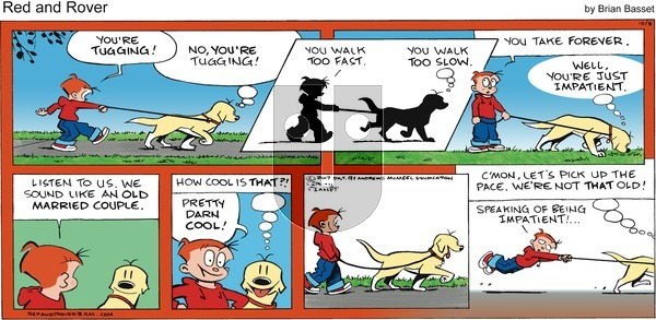 Red and Rover on Sunday October 8, 2017 Comic Strip