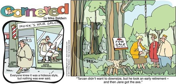 Cornered on Sunday April 20, 2014 Comic Strip
