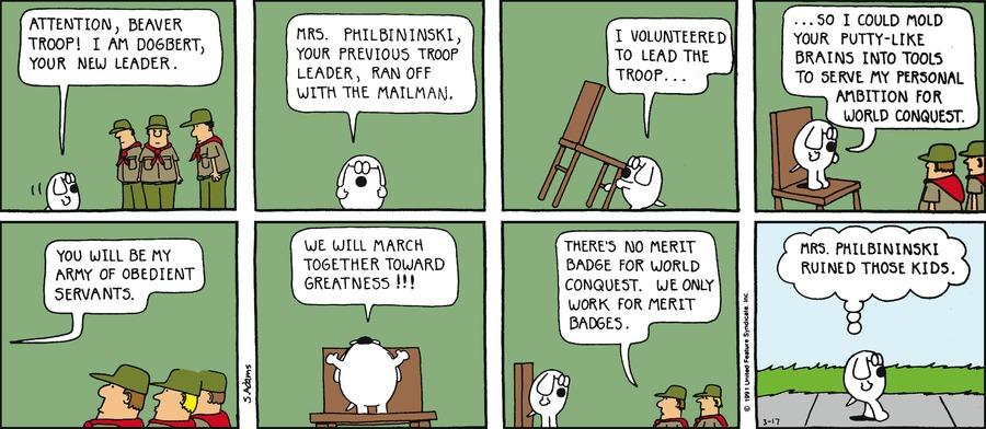 Dilbert Classics Comic Strip for May 18, 2014