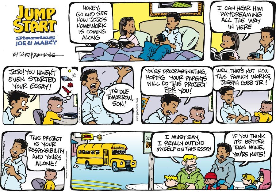 JumpStart Comic Strip for February 10, 2019