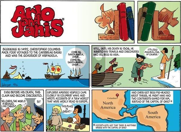Arlo and Janis on Sunday October 12, 2014 Comic Strip