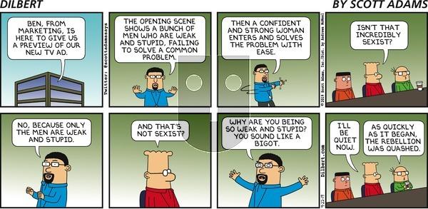Dilbert - Sunday September 22, 2019 Comic Strip
