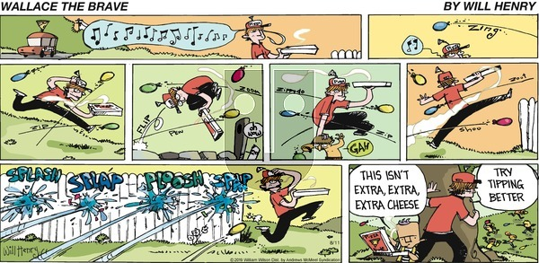 Wallace the Brave - Sunday August 11, 2019 Comic Strip
