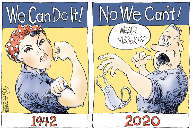 Signe Wilkinson Comic Strip for November 21, 2020