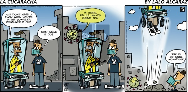 La Cucaracha - Sunday May 23, 2021 Comic Strip