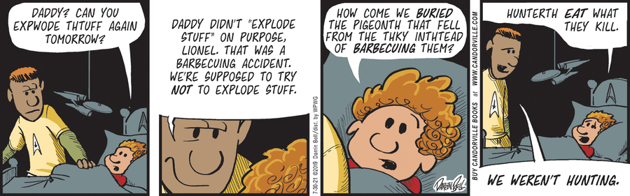 Candorville Comic Strip for July 30, 2021