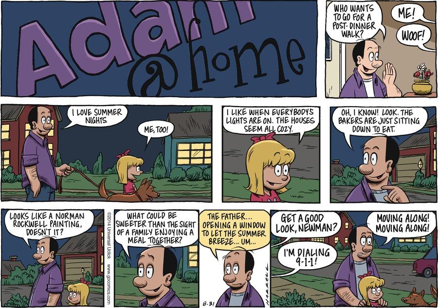 Adam@Home Comic Strip for August 31, 2014