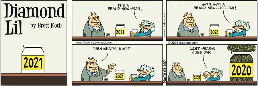 Diamond Lil Comic Strip for January 10, 2021