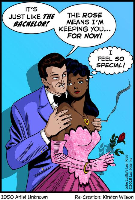 Last Kiss Comic Strip for April 02, 2018