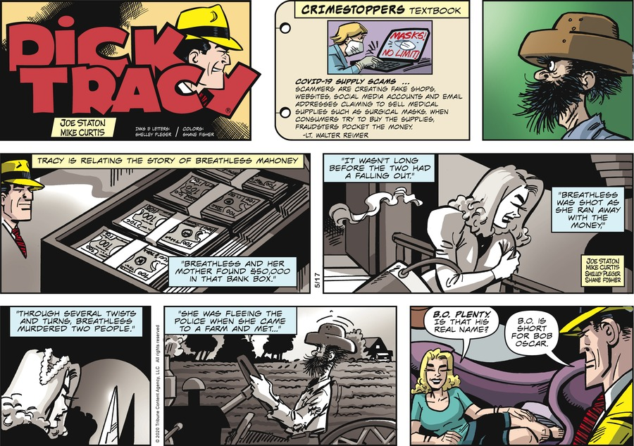 Dick Tracy by Joe Staton and Mike Curtis on Sun, 17 May 2020