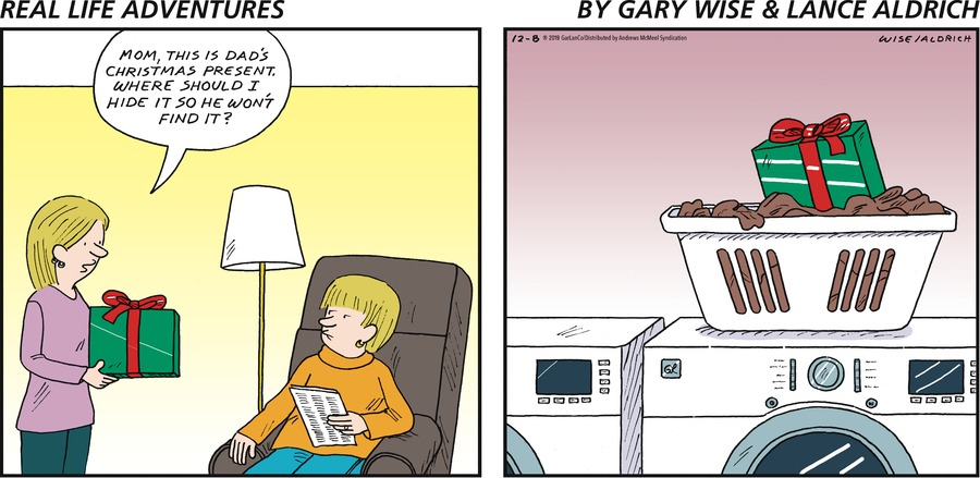 Real Life Adventures Comic Strip for December 08, 2019