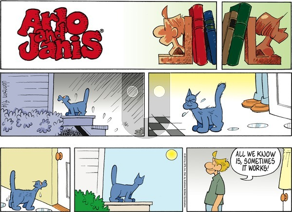 Arlo and Janis on Sunday April 14, 2019 Comic Strip