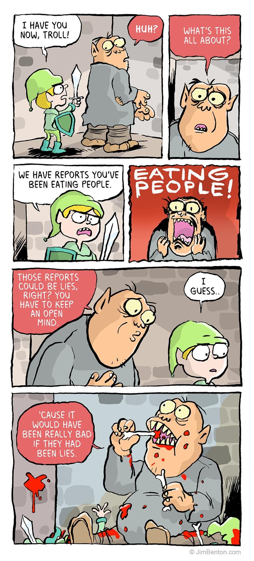 Jim Benton Cartoons Comic Strip for January 19, 2020