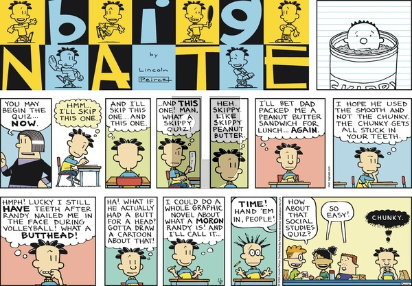 Big Nate on December 9, 2018 Comic Strip