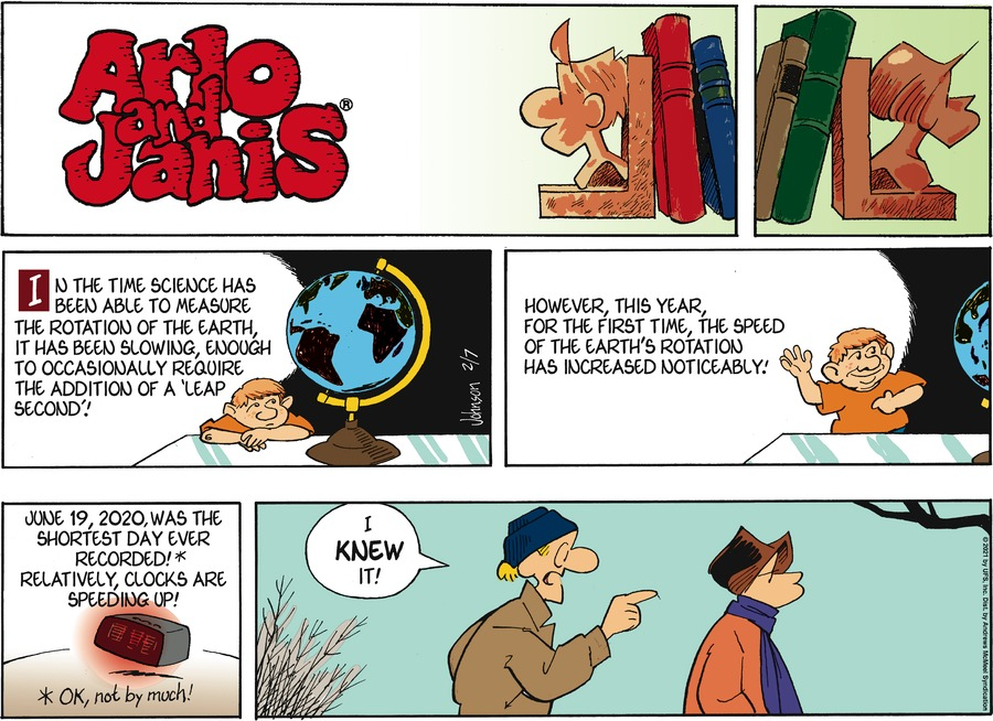 Arlo and Janis Comic Strip for February 07, 2021