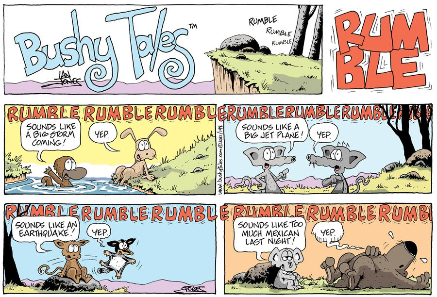 Bushy Tales by Ian Jones on Sun, 24 Jan 2021