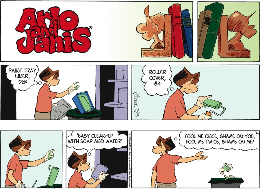Arlo and Janis Comic Strip for July 25, 2021