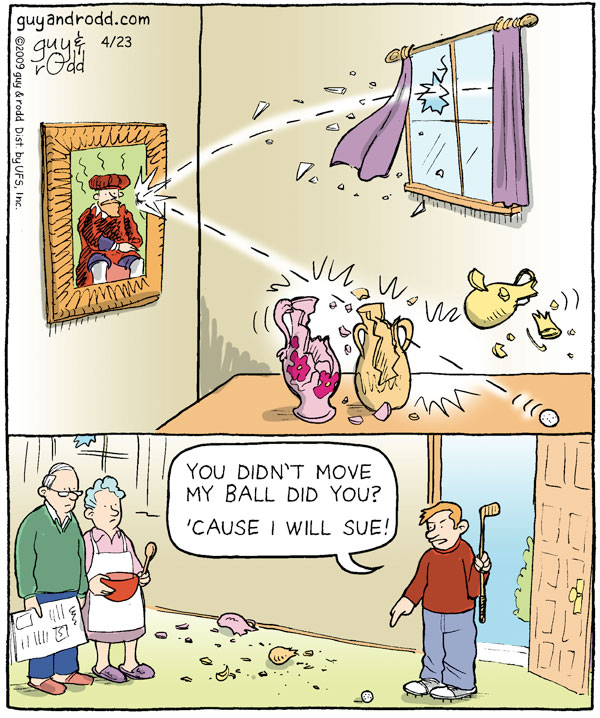 Brevity for Apr 23, 2009 Comic Strip