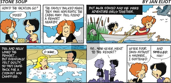 Stone Soup on Sunday July 17, 2016 Comic Strip