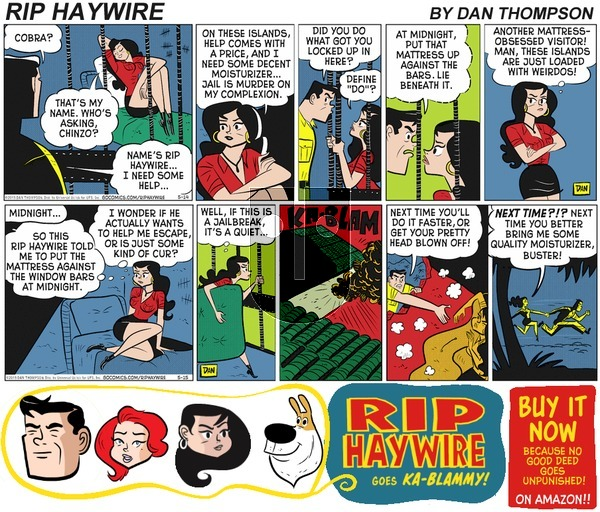 Rip Haywire on Sunday May 7, 2017 Comic Strip