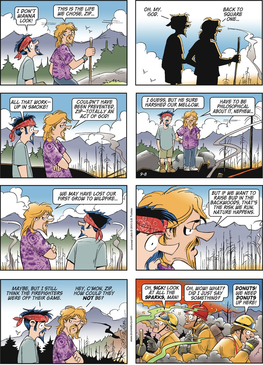 Doonesbury Comic Strip for September 08, 2013