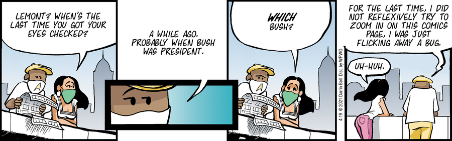 Candorville Comic Strip for April 19, 2021