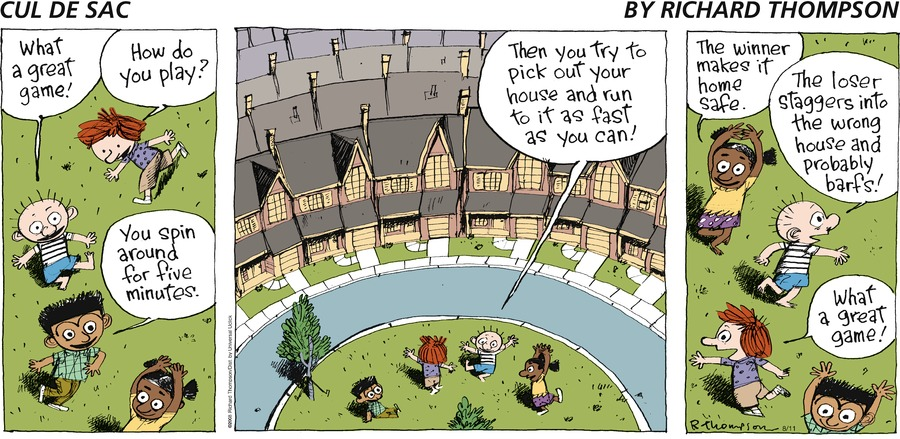 Cul de Sac for Aug 11, 2013 Comic Strip