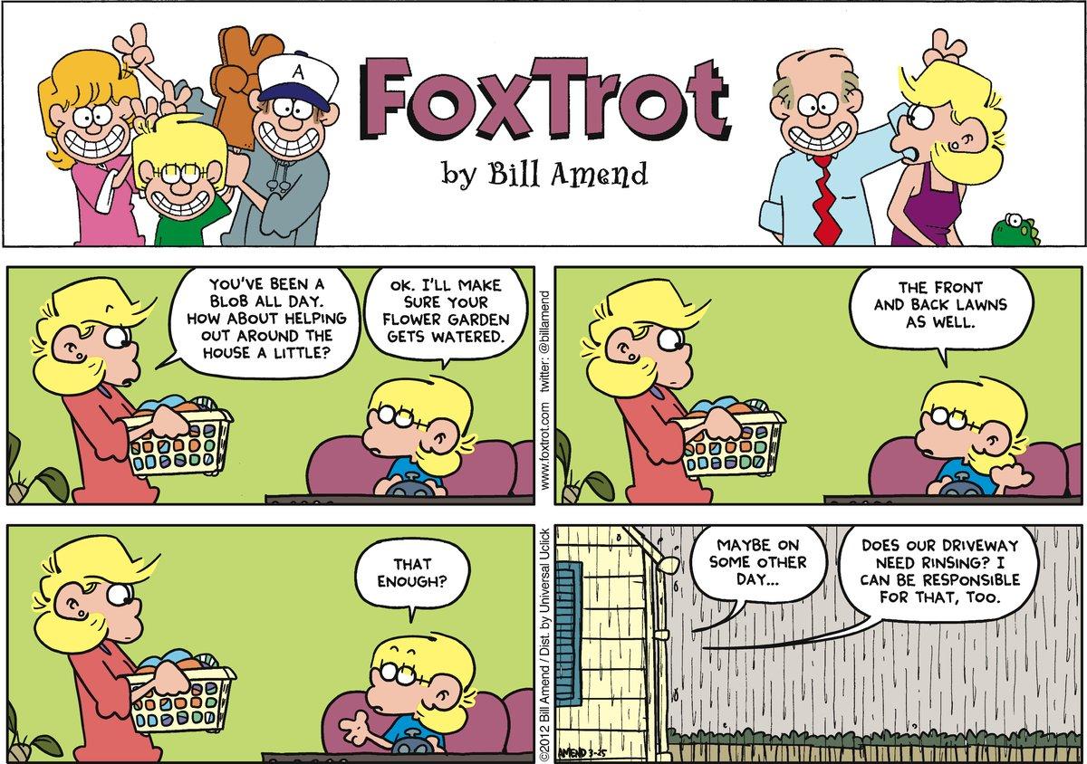 FoxTrot for Mar 25, 2012 Comic Strip