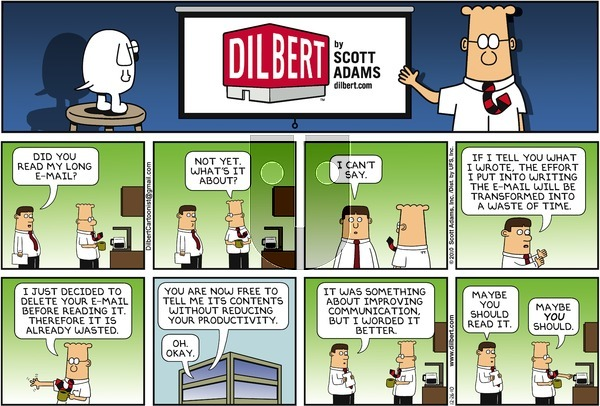 Dilbert on Sunday December 26, 2010 Comic Strip