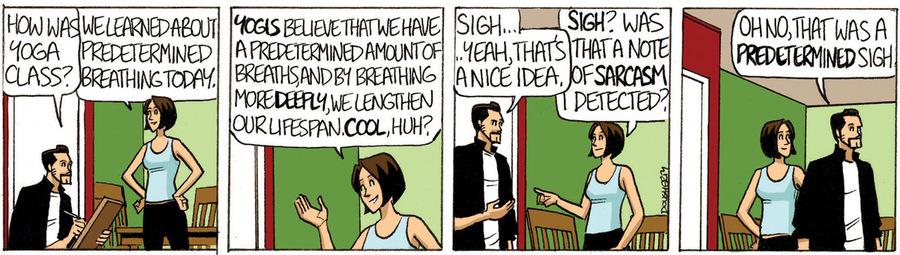 Beardo for Nov 12, 2012 Comic Strip